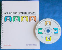 Seeing and Hearing Speech - DVD and Manual